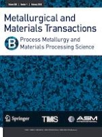 Metallurgical and Materials Transactions B 1/2019