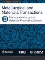 Metallurgical and Materials Transactions B 4/2019