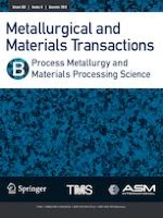 Metallurgical and Materials Transactions B 6/2019