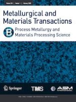 Metallurgical and Materials Transactions B 1/2020