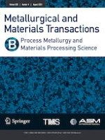 Metallurgical and Materials Transactions B 4/2021