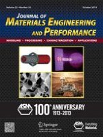 Journal of Materials Engineering and Performance 10/2013