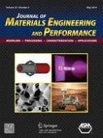 Journal of Materials Engineering and Performance 5/2014