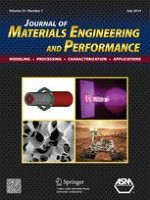 Journal of Materials Engineering and Performance 7/2014