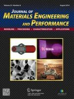 Journal of Materials Engineering and Performance 8/2014