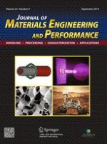 Journal of Materials Engineering and Performance 9/2014