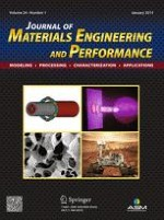 Journal of Materials Engineering and Performance 1/2015