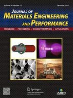 Journal of Materials Engineering and Performance 12/2015