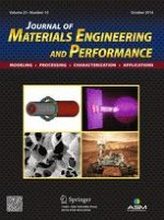 Journal of Materials Engineering and Performance 10/2016