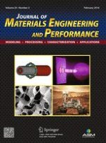 Journal of Materials Engineering and Performance 2/2016