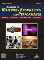 Journal of Materials Engineering and Performance 3/2016