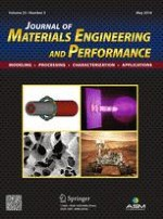Journal of Materials Engineering and Performance 5/2016