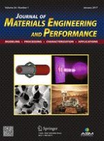 Journal of Materials Engineering and Performance 1/2017