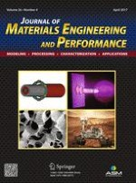Journal of Materials Engineering and Performance 4/2017