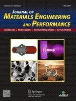 Journal of Materials Engineering and Performance 5/2017