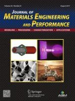 Journal of Materials Engineering and Performance 8/2017