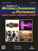 Journal of Materials Engineering and Performance 12/2018
