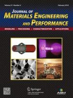 Journal of Materials Engineering and Performance 2/2018