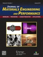 Journal of Materials Engineering and Performance 1/2019