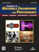 Journal of Materials Engineering and Performance 2/2019