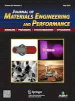 Journal of Materials Engineering and Performance 5/2019