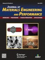 Journal of Materials Engineering and Performance 6/2019