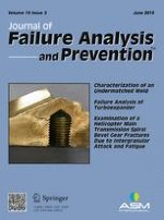 Journal of Failure Analysis and Prevention 3/2015