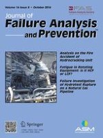 Journal of Failure Analysis and Prevention 5/2016