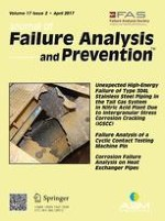 Journal of Failure Analysis and Prevention 2/2017