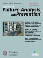 Journal of Failure Analysis and Prevention 5/2017