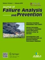 Journal of Failure Analysis and Prevention 1/2018