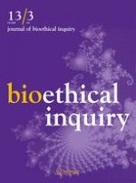 Journal of Bioethical Inquiry 3/2016