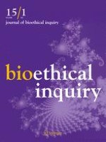 Journal of Bioethical Inquiry 1/2018