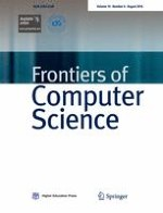 Frontiers of Computer Science 4/2016