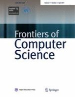 Frontiers of Computer Science 2/2017
