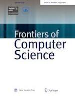 Frontiers of Computer Science 4/2019