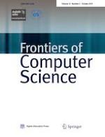 Frontiers of Computer Science 5/2019