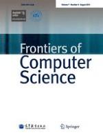 Frontiers of Computer Science 1/2021