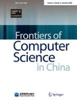 Frontiers of Computer Science 4/2009