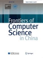 Frontiers of Computer Science 2/2011