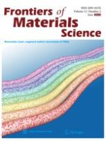 Frontiers of Materials Science 2/2018