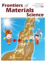Frontiers of Materials Science 3/2018