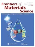 Frontiers of Materials Science 1/2019