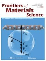 Frontiers of Materials Science 1/2021