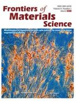 Frontiers of Materials Science 1/2014