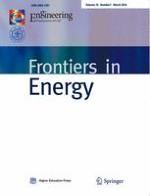 Frontiers in Energy 1/2016