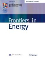 Frontiers in Energy 1/2018