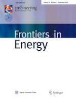 Frontiers in Energy 3/2018