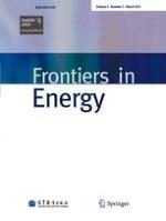Frontiers in Energy 1/2011