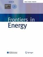 Frontiers in Energy 1/2013